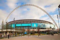 温布利球场在伦敦,英国 库存照片