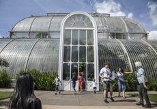 温度房子, Kew庭院 图库摄影