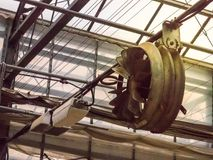 温度控制的工业爱好者 库存图片