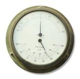 温度计和湿度计设备 库存图片