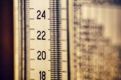 温度计渐进性 免版税库存照片