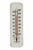 温度计葡萄酒 免版税库存图片