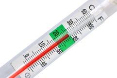 温度计 图库摄影
