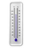 温度计 免版税图库摄影