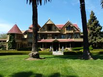 温彻斯特奥秘议院,圣何塞,加利福尼亚 免版税库存照片
