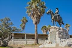 温得和克,南部骑马纪念或'德国车手  库存图片