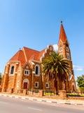 温得和克,纳米比亚建筑学  免版税库存图片