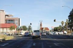 温得和克,纳米比亚- 2009年1月12日 免版税库存照片