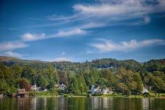 温德米尔,湖区英国 免版税图库摄影