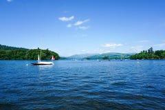 温德米尔,湖区,英国 免版税图库摄影