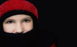 温暖冬天 库存图片