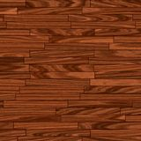 温暖棕色地板的木条地板 图库摄影