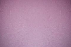 温暖的口气桃红色水泥墙壁背景干净的葡萄酒样式 免版税库存照片
