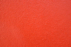 温暖的口气红色水泥墙壁背景干净的葡萄酒样式和emp 免版税图库摄影