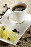 温暖的咖啡 库存图片