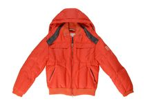 温暖的夹克。 免版税库存照片