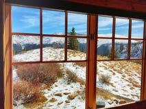 温暖的小屋 库存图片