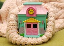温暖的房子 免版税库存照片