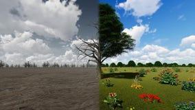 温暖的概念背景 影视素材