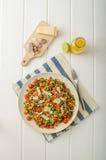 温暖的沙拉扁豆,生物健康 图库摄影