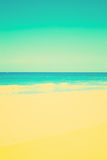 温暖的海滩 库存照片