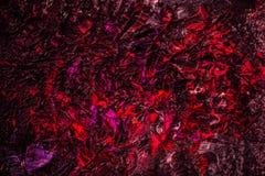 温暖的红色被绘的背景 库存图片