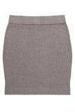 温暖的苗条的stockinet裙子 库存图片