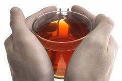 温暖的茶 免版税库存图片