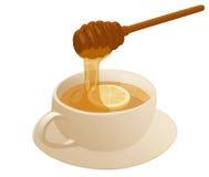 温暖的蜂蜜 库存图片