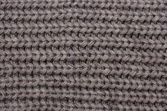 温暖被编织的围巾 免版税库存照片