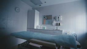 温泉做法的壮观地被执行的室 影视素材