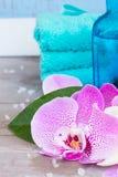 温泉和健康设置 免版税图库摄影