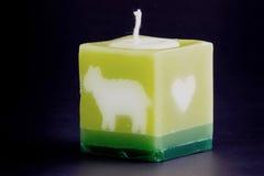 温泉和手段的蜡烛。 免版税图库摄影