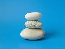 温泉放松的石头 免版税库存图片