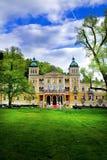 温泉旅馆在Marianske Lazne -捷克 免版税库存图片