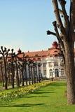 温泉渡假胜地在卡洛维变化,捷克 免版税库存图片