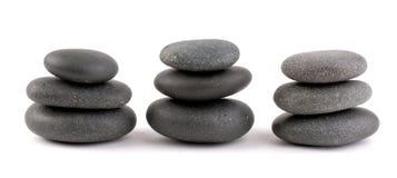 温泉石头 免版税库存照片