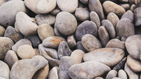 温泉石头,海海滩 海岸 免版税库存图片