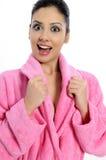 温泉秀丽治疗妇女 免版税库存图片
