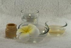 温泉花和芳香 库存图片