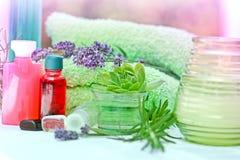 温泉治疗-芳香疗法 库存图片