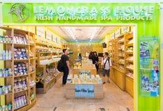 温泉MBK商城的,曼谷产品商店 免版税图库摄影