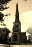 温特沃思rotherham教会  库存图片