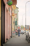 温科夫齐的中心 免版税图库摄影