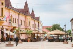 温科夫齐镇在克罗地亚 库存照片