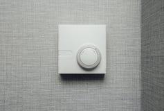 温箱气候控制,特写镜头视图 免版税库存图片
