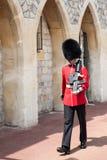 温莎城堡卫兵 库存图片