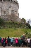 温莎城堡柏克夏,英国 库存照片