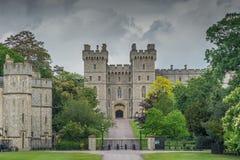 温莎城堡,英国 库存图片