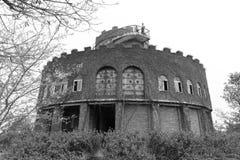 温莎城堡黑白图象 库存图片